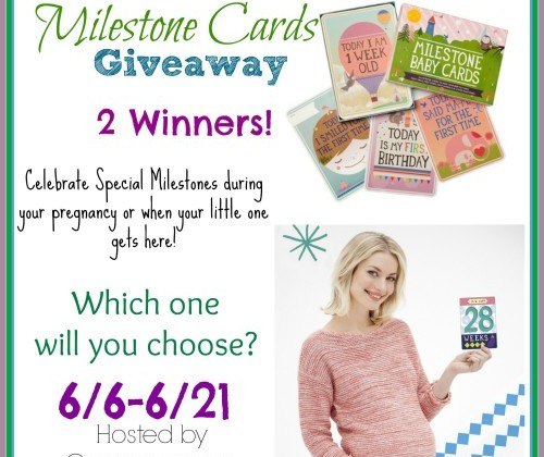 Enter: Milestones Card Giveaway