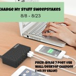 Enter : Bolse 7 Port USB Wall/Desktop Charger Giveaway