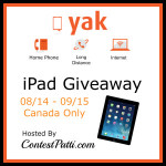Enter : iPad Giveaway (Canada Only)