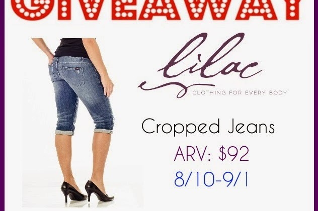 Enter : Lilac Clothing's Cropped Jeans (ARV $92) Giveaway
