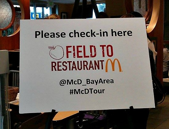 Excited for a McDonald's® Field to Restaurant Tour #McDTour #Sponsored