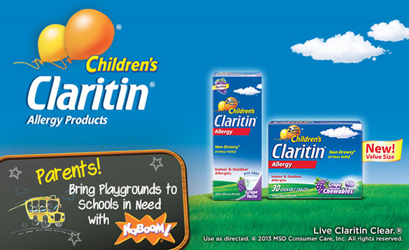 children's claritin and kaboom