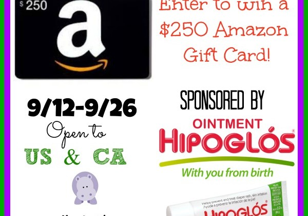 Enter :  Hipoglos Amazon $250 Gift Card Giveaway
