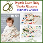 Enter : Organic Cotton Baby Blanket Giveaway