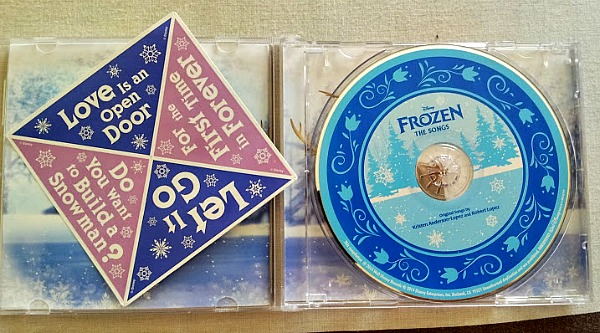 Disney's Frozen : The Songs Review & Giveaway