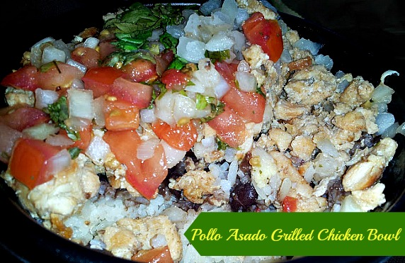 Pollo Asado Grilled Chicken Bowl