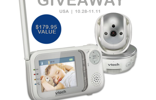 Enter : VTech Baby Monitor Giveaway