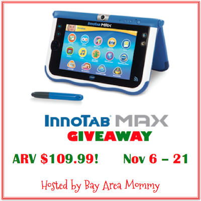 Enter : Innotab MAX Giveaway