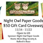 Night Owl Giveaway