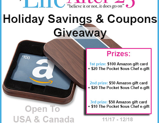 Enter : Amazon Gift Card Giveaway
