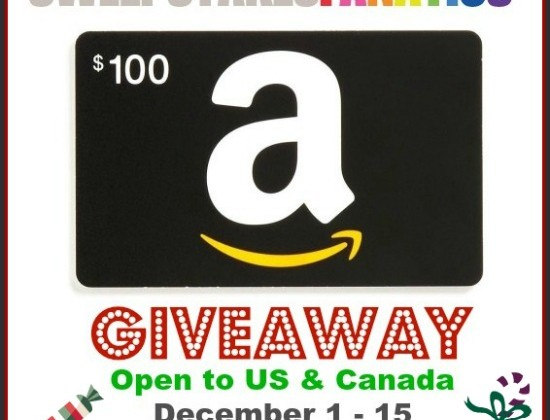 Enter : $100 Amazon Gift Card Giveaway