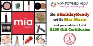 Mia Mariu Holiday Ready Giveaway