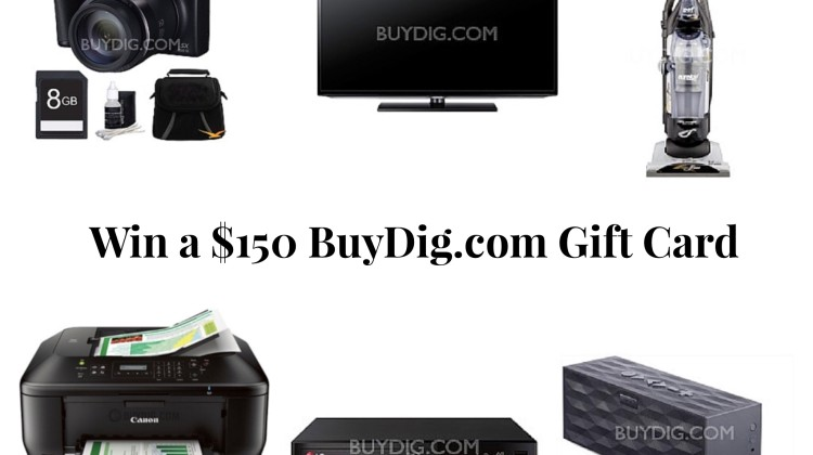 Enter : $150 BuyDig Gift Card Giveaway