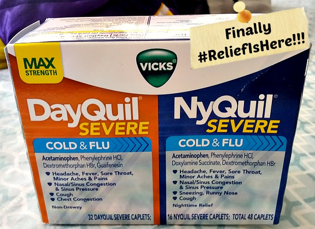 Vicks DayQuil and NyQuil Severe