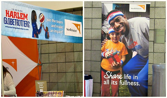 harlem globetrotters with world vision