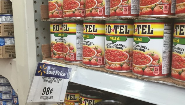 Great Savings on ROTEL at Walmart