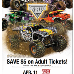 Monster Jam at Levi's Stadium on April 15