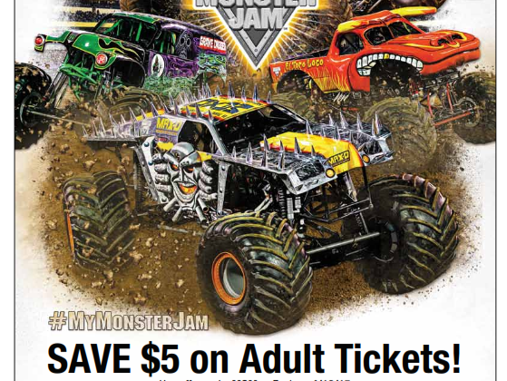 Watch Out for Monster Jam at Levi's Stadium
