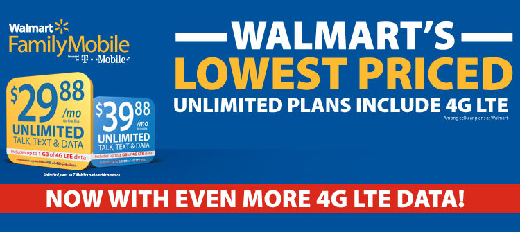 Make Memories with Walmart's Lowest Priced Unlimited Plans #MobileMemories