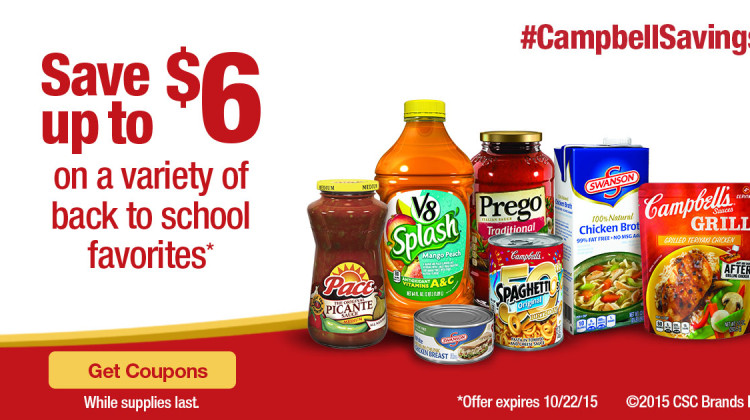 Stretch Out Your Budget with These Back To School Deals #CampbellSavings