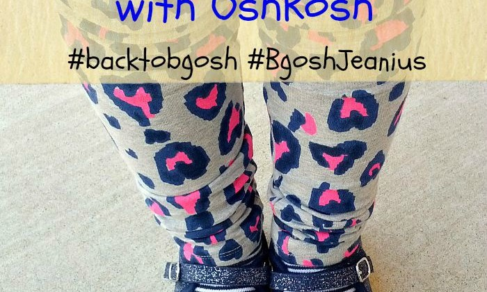 Back to School Fashion with OshKosh #backtobgosh #BgoshJeanius