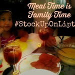 Meal Time is Family Time #StockUpOnLipton