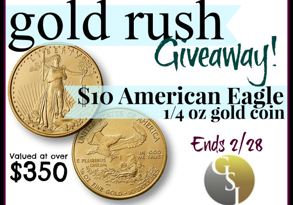 Enter : Gold Rush GSI Exchange Giveaway