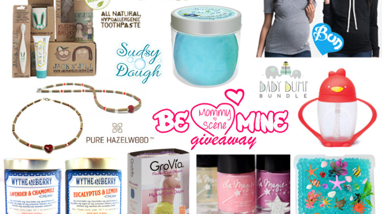 Enter : Be Mine Gift Set Giveaway