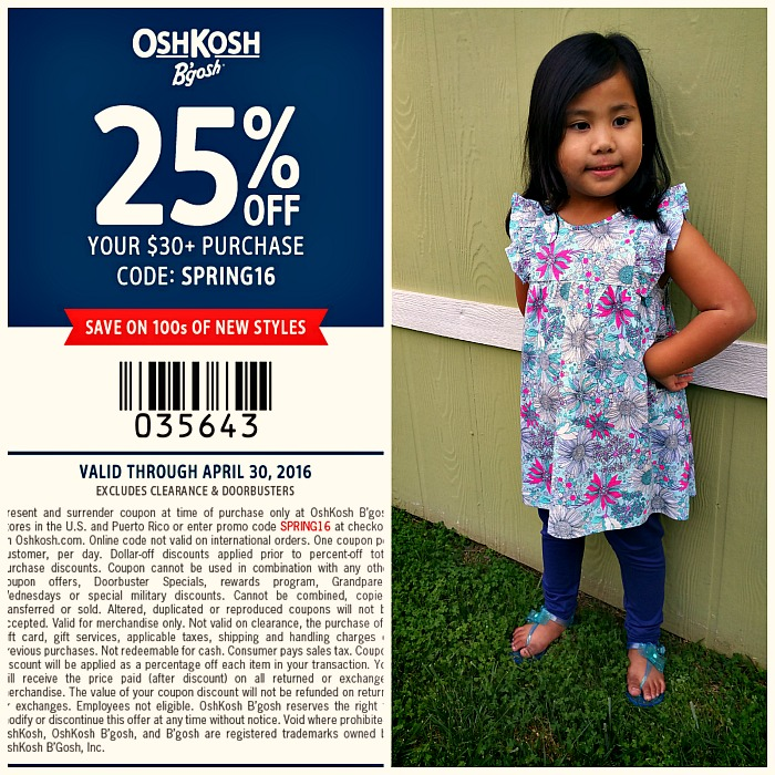 Spring Adventure with OshKosh B'gosh #BreakForSpring
