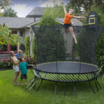 A Trampoline Designed With Your Children's Safety in Mind