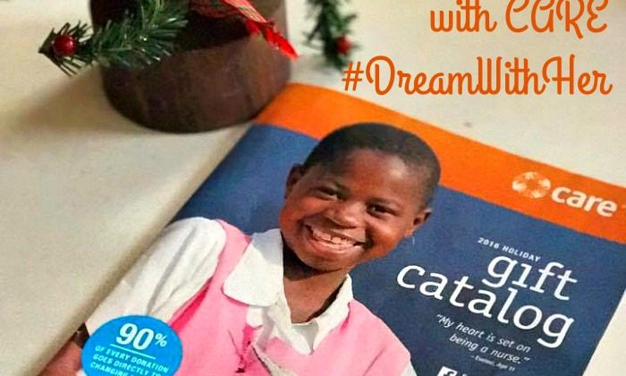 Opening Your Child's Heart to Giving with CARE #DreamWithHer